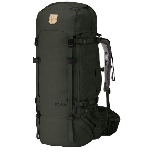 Fjallraven Kajka 75 forest green backpack