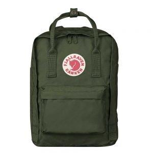 """Fjallraven Kanken Laptop 13"""" Rugzak forest green backpack"""