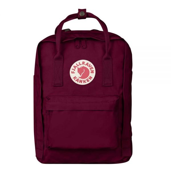 "Fjallraven Kanken Laptop 13"" Rugzak plum backpack"