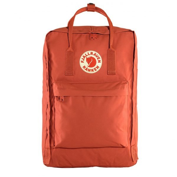 "Fjallraven Kanken Laptop 17"" Rugzak rowan red backpack"