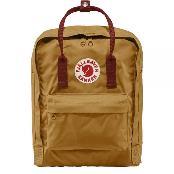 Fjallraven Kanken Rugzak acorn / ox red backpack