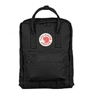 Fjallraven Kanken Rugzak black backpack