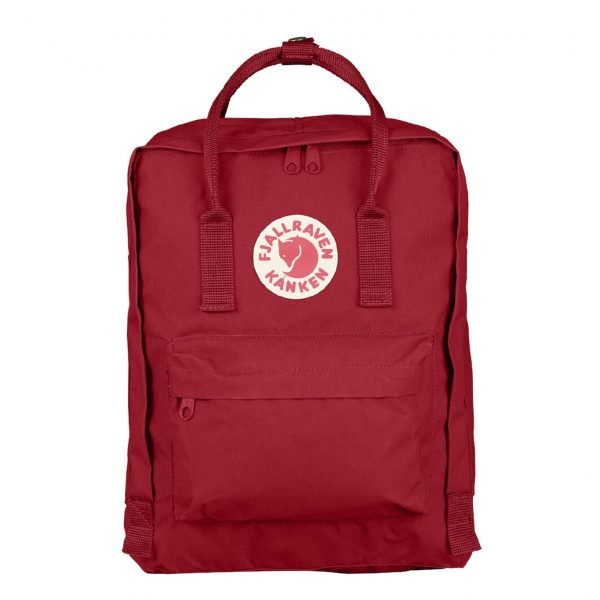 Fjallraven Kanken Rugzak deep red backpack