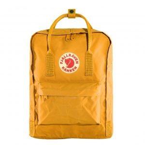 Fjallraven Kanken Rugzak warm yellow backpack