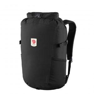 Fjallraven Ulvo Rolltop 23 black backpack