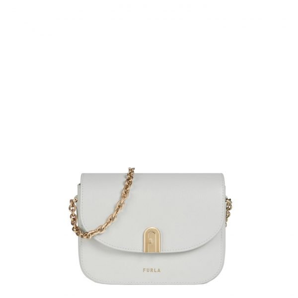 Furla 1927 Mini Crossbody Chain talco
