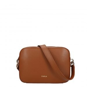 Furla Block Mini Crossbody cognac h Damestas