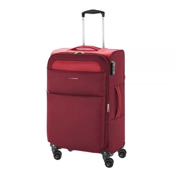 Gabol Cloud Trolley Medium 69 red Zachte koffer