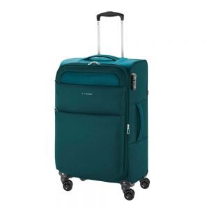 Gabol Cloud Trolley Medium 69 turquoise Zachte koffer