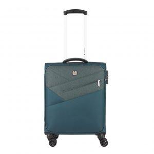 Gabol Mailer Cabin Trolley 55 turquoise Zachte koffer