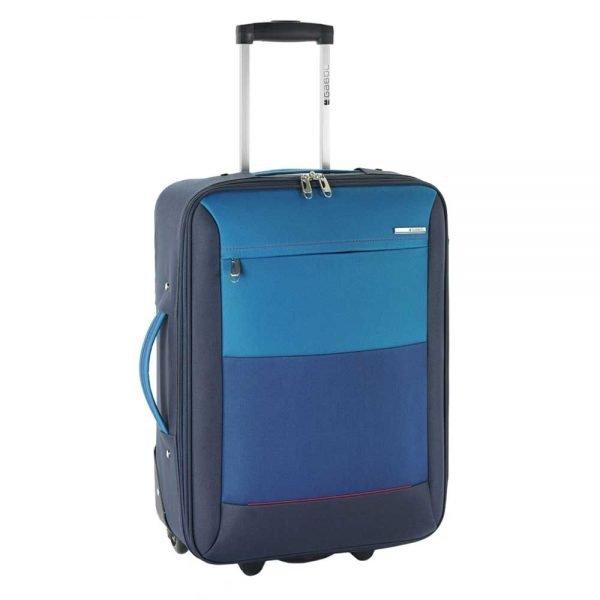 Gabol Reims Cabin Trolley blue Zachte koffer