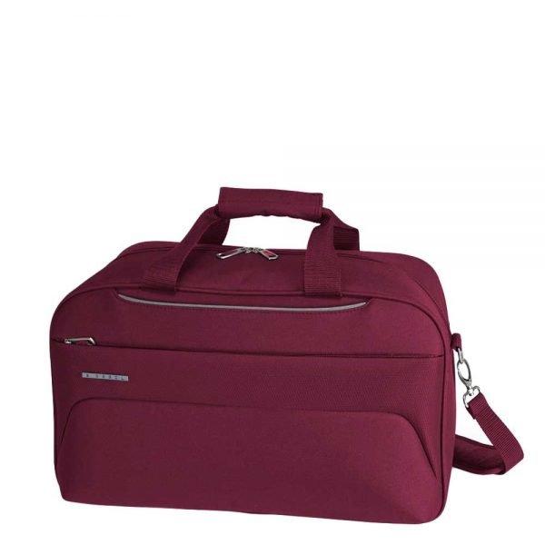 Gabol Zambia Flight Bag burgundy Weekendtas