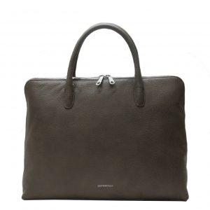 Gigi Fratelli Romance A4 laptop bag taupe
