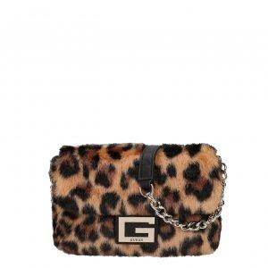 Guess Gwen Convertible Flap Crossbody leopard Damestas
