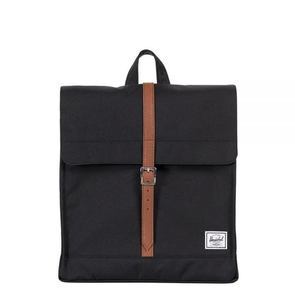 Herschel Supply Co. City Mid-Volume Rugzak black/tan synthetic leather Rugzak