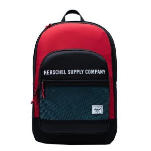 Herschel Supply Co. Kaine Rugzak black/red/bachelor button backpack