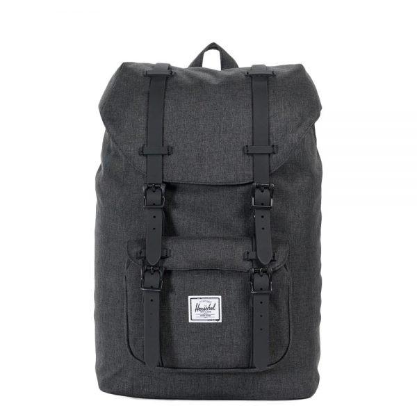 Herschel Supply Co. Little America Mid-Volume Rugzak black crosshatch/black backpack