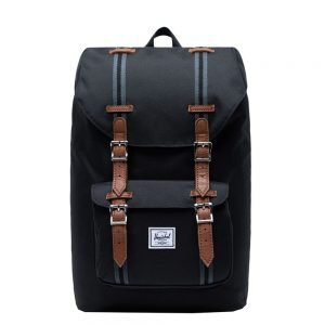 Herschel Supply Co. Little America Mid-Volume Rugzak black/black/tan backpack