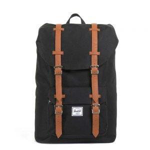 Herschel Supply Co. Little America Mid-Volume Rugzak black/tan backpack