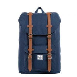 Herschel Supply Co. Little America Mid-Volume Rugzak navy/tan backpack