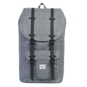 Herschel Supply Co. Little America Rugzak raven crosshatch/black rubber backpack