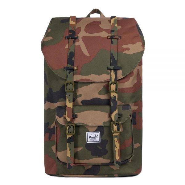 Herschel Supply Co. Little America Rugzak woodland camo backpack