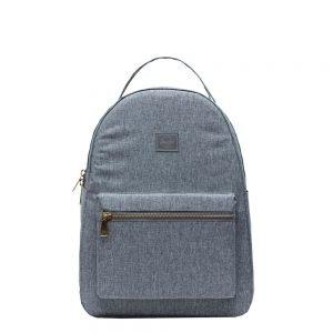 Herschel Supply Co. Nova Mid-Volume Light Rugzak raven crosshatch backpack
