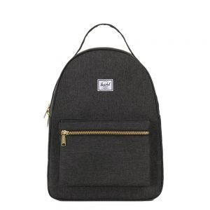 Herschel Supply Co. Nova Mid-Volume Rugzak black crosshatch backpack