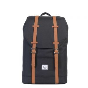 Herschel Supply Co. Retreat Mid-Volume Rugzak black/tan backpack