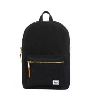 Herschel Supply Co. Settlement Mid-Volume Rugzak black backpack