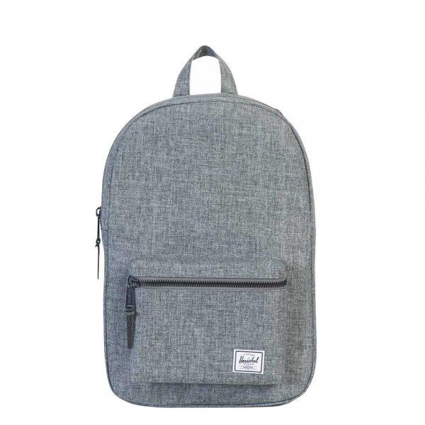 Herschel Supply Co. Settlement Mid-Volume Rugzak raven crosshatch backpack
