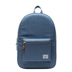 Herschel Supply Co. Settlement Rugzak blue mirage crosshatch backpack