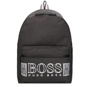 Hugo Boss Pixel Backpack dark grey white backpack