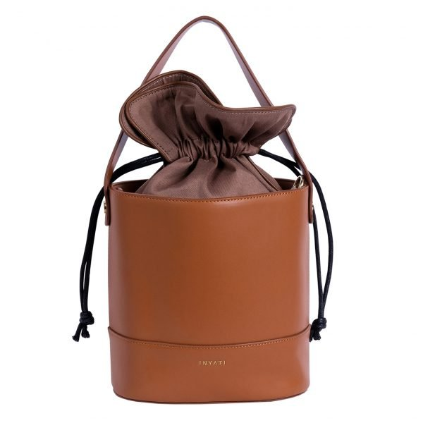 Inyati Darlin' Miranda Bucket Bag toasted nut Damestas