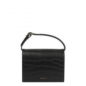 Inyati Ivy Mini Bag black croco matt Damestas