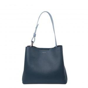 Inyati Jane Tote Bag dark ocean soft blue Damestas