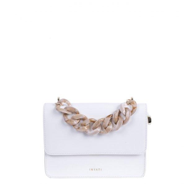 Inyati Summer Stories Amber Crossbody Bag white Damestas