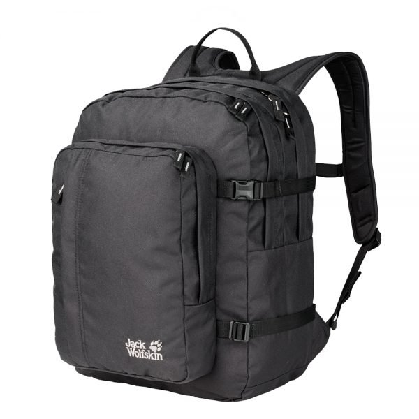 Jack Wolfskin Berkeley Rugzak black backpack