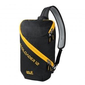 Jack Wolfskin Ecoloader 12 Bag black backpack