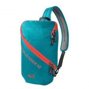 Jack Wolfskin Ecoloader 12 Bag dark cyan backpack