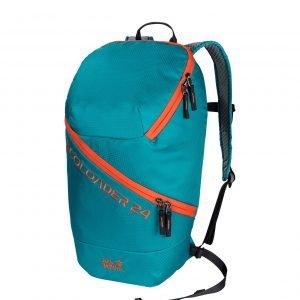 Jack Wolfskin Ecoloader 24 Bag dark cyan backpack