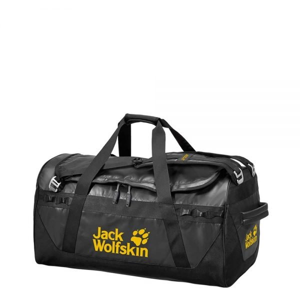 Jack Wolfskin Expedition Trunk 65 black Weekendtas