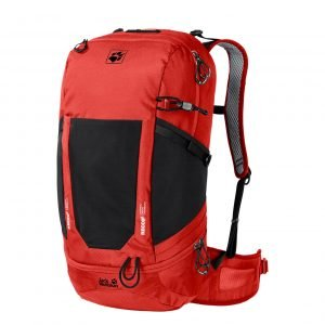 Jack Wolfskin Kingston 30 Pack Recco lava red backpack