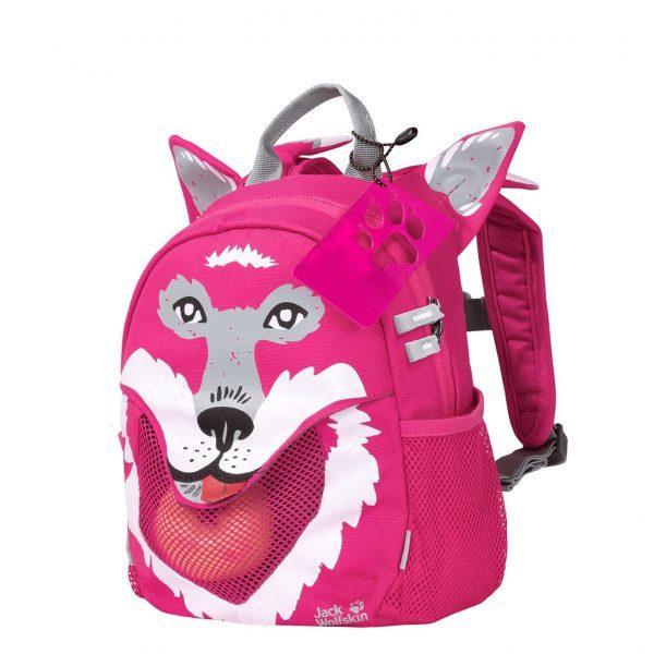 Jack Wolfskin Little Jack Rugzak pink peony backpack
