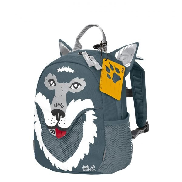Jack Wolfskin Little Jack Rugzak storm grey backpack