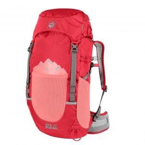 Jack Wolfskin Pioneer 22 Pack tulip red backpack