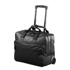 "Jump Stripe Pilot Case Laptop 15.4"" black Pilotenkoffer"