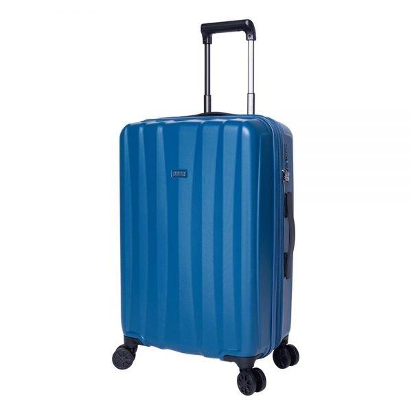 Jump Tanoma PP Ultralight Trolley 65 Exp petrol blue Harde Koffer