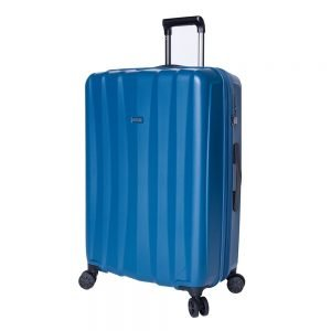 Jump Tanoma PP Ultralight Trolley 75 Exp petrol blue Harde Koffer