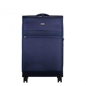Jump Toledo 2.0 4 Wheel Expandable Suitcase 78 blue Zachte koffer